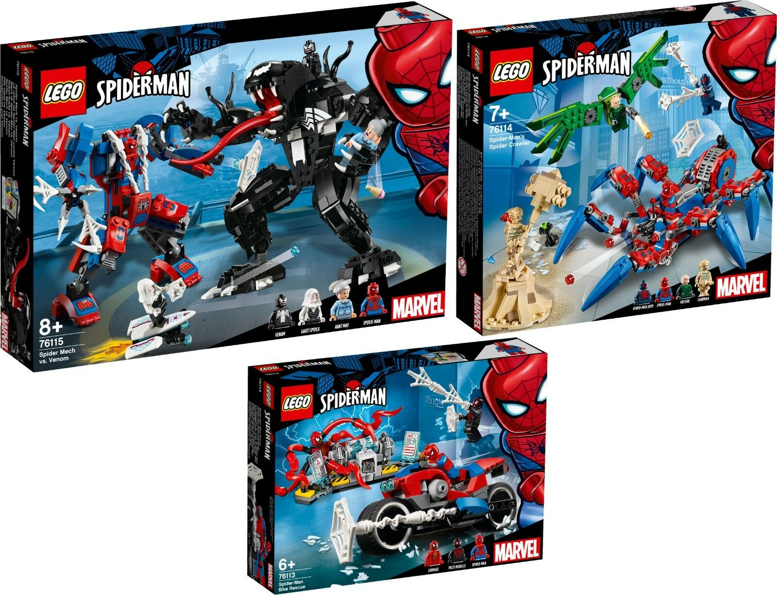 Lego Super Heroes 76113 76114 76115 Spider Man n12 18