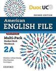 American English File 2 Multi-Pack A by Oxford University Press (Paperback, 2015)
