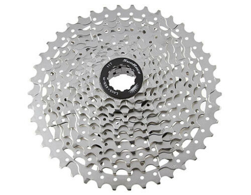 Bicycle Bike 11 Speed Cassette 11//42t Index CSMS8 Silver Sun Race MTB FIXIE NEW