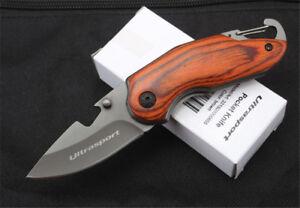 Ultra-Sport-Folding-Knife-Hunting-Camping-Fishing-Outdoor-Pocket-Tool-Sharp