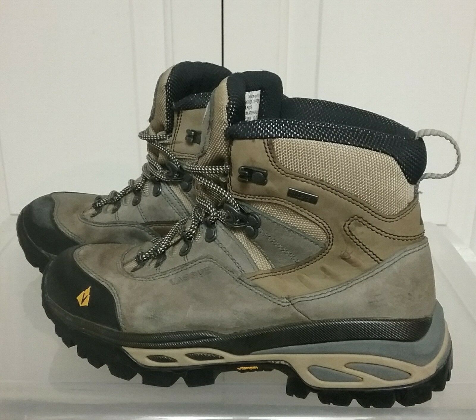 Vasque Women's Hiking Boots Leather Upper Gore-Tex Lace Up 7155 Size 10M
