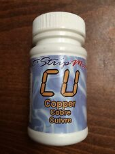 COPPER Cu eXact Micro Reagent Test Strip Drinking water pool spa well tap pond