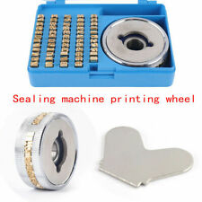 Character Letters And Wheel Fr 900fr 770 For Continuous Band Sealer Accessories