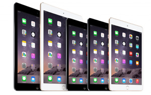 Apple iPad 2, 3, 4, Mini, Air | 16GB 32GB 64GB 128GB | Wi-Fi - All Colors