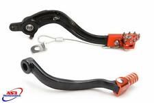 KTM 250 450 SXF EXC-F 2011-2016 FORGED GEAR LEVER & REAR BRAKE PEDAL COMBO SET