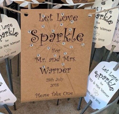 Soda balises//Let Love Sparkle//mariage faveur Soda étiquettes-Personnalisé x24