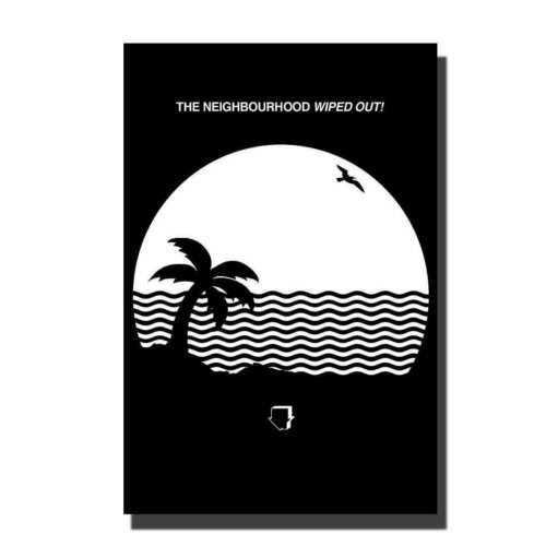 The Neighbourhood Wiped Out Custom Rock  Band singer Fabric Poster 24x36 A-187