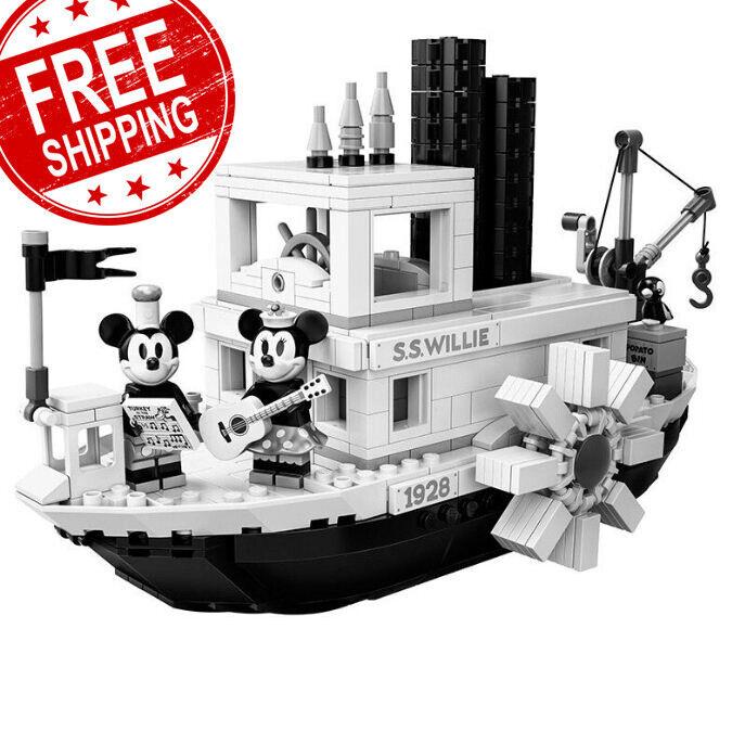 Lego Steamboat Willie 21317 Building  Enfants-nouveau Factory Sealed 100%  vente discount en ligne bas prix