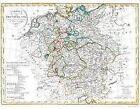 Historische Karte: DEUTSCHLAND 1818 (Plano) (2014, Mappe)