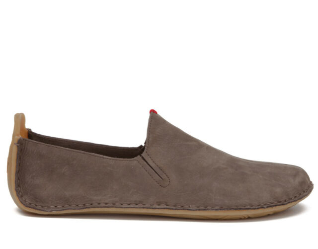 Vivobarefoot 200099 Womens Ababa Brown Leather Slip On Shoe Size 40 EU/ 9 US (M)