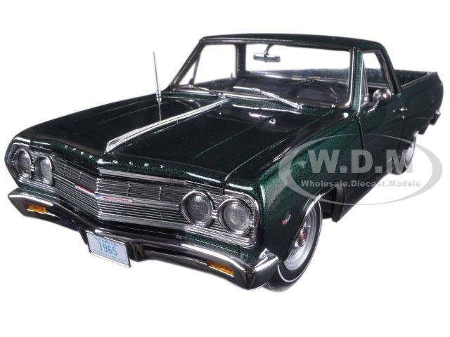 1965 CHEVROLET EL CAMINO grön LTD DED 426PCS 1  18 DIESCAST modelllllerL AV ACME A180408