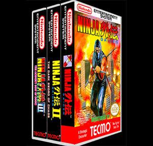 Ninja Gaiden 3 Pack 1 2 3 Nes Reproduction Art Case Box No Game
