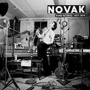 NOVAK - DUMB RECORDS: 1977-1979  VINYL LP NEU