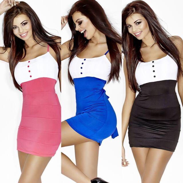 Clubwear Partykleid mit Spitze Minikleid Abendkleid Freizeitkleid Sommerkleid