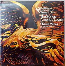 SHERRILL MILNES: Songs America Loves-SEALED1976LP General Fed. of Women's Clubs