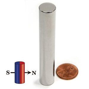 "CMS Magnetics® 1 piece Neodymium Magnets N45 1/2x3"" Diametrically Magnetized"
