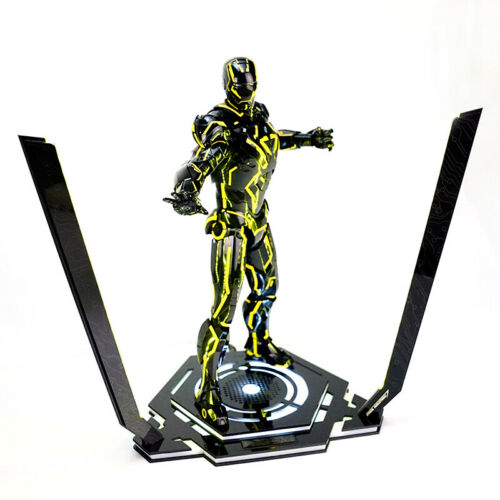 1//6 LED Iron Man Stand Legacy 2.0 Base Platform Scene Props F 12in.figure Doll