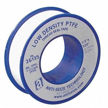 L ANTI-SEIZE TECHNOLOGY 26130 Thread Sealant Tape,1//2 In W,260 In
