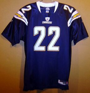 Top SAN DIEGO CHARGERS JACOB HESTER NAVY BLUE #22 AUTHENTIC NFL Size 54  vV6nfrwi