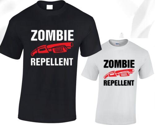 Zombie Repellent T shirt Mens The Walking Dead Daryl Dixon Rick