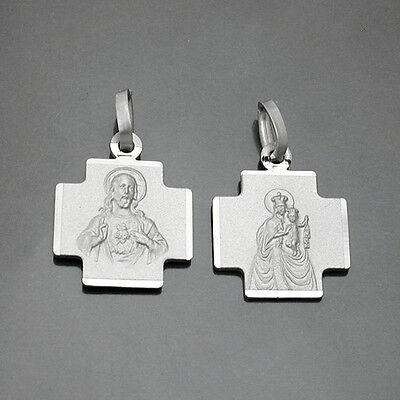 Zielsetzung Kreuz Anhänger Madonna Und Jesus Skapulier Carmen Herz Jesu Mit Kette Silber 925 Ein Kunststoffkoffer Ist FüR Die Sichere Lagerung Kompartimentiert