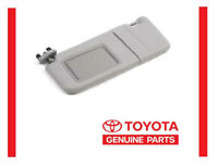 2007 - 2011 Toyota Camry Gray Grey Sun Visor Driver's Side Left Without Sunroof