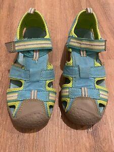 Pediped Sahara Flex size 1.5-2 (33) Blue Green washable play sandal shoe