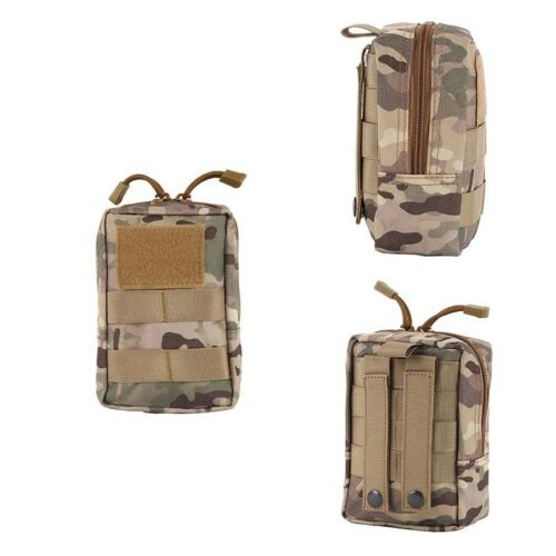 Waterproof Tactical Molle Pouch EDC Waist Pack Medical First Aid Emergency Bag