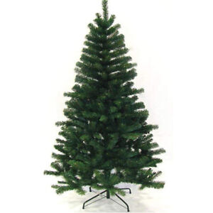 Green, 7ft Raxter Artificial Christmas Tree,4Ft//5Ft//6Ft//7Ft Pine Tree with Solid Metal Legs Tips,Easy Assembly,Perfect for Indoor and Outdoor Christmas Decoration