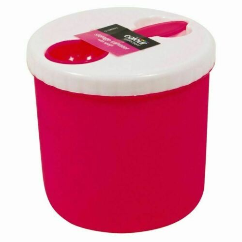 Soup Container With Spoon Plastic Pot Bowl Travel School Work Office Car Holiday