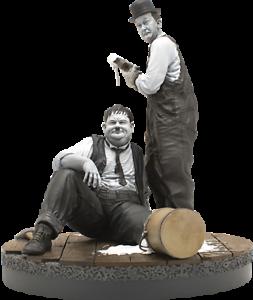 Stan Laurel & Oliver Hardy Laurel et Hardy Old Rare Infinite Statue Sideshow