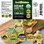thumbnail 3 - Premium Hemp Oil Drops for Pain Relief, Stress, Keto, Anxiety, Sleep (3 PACK)