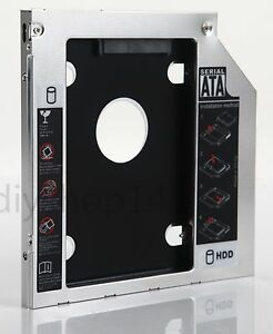 DY-tech 2nd Hard Drive HDD SSD Caddy Adapter for MSI a-6200 A6300 Swap SN-506BB SN-506