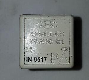 ford ba bf mkii falcon xt fairmont xr6 genuine white fuse box main 2012 Ford Falcon ford falcon xt fuse box