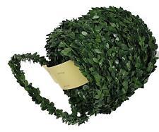 (0,47€/m) 30m Buchsbaumgirlande Grüngirlande für Fische Kreuze Buchs Tischdeko