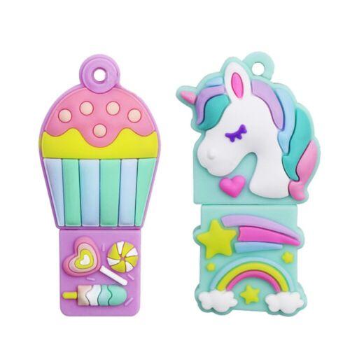 16GB Pendrive Unicorn Flamingo Cat Pink Panther USB Flash Drive Memory Stick