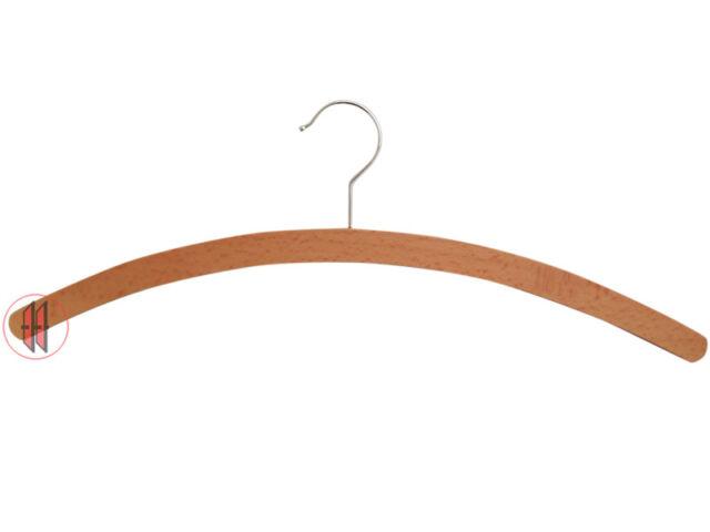 BH025= 100 Weber Holz Einfachbügel mit Steg /& Rockkerbe 1511-2H roh Standard