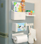 5Pcs-Magnetic-Fridge-Side-Shelf-Rack-Storage-Organizer-Holder-Tissue-Box-set thumbnail 2