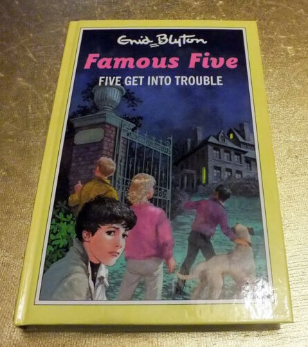 1 of 1 - Five Get into Trouble by Enid Blyton (Hardback, 1993)