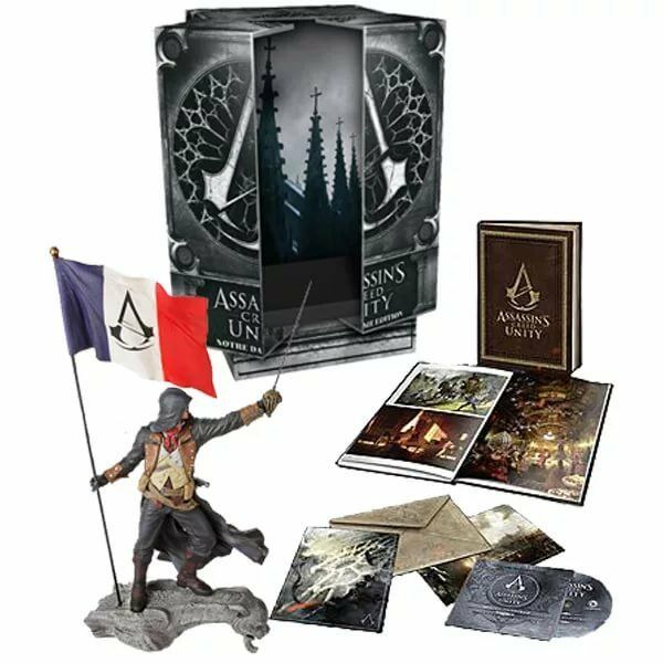 ASSASSIN' S CREED UNITY NOTRE DAME COLLECTOR'S EDITION PC - NUOVO NEW