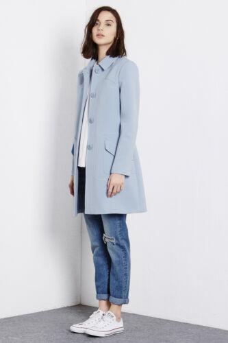 Warehouse princesse Warehouse manteau bleu bleu 16 manteau SwSq6T0