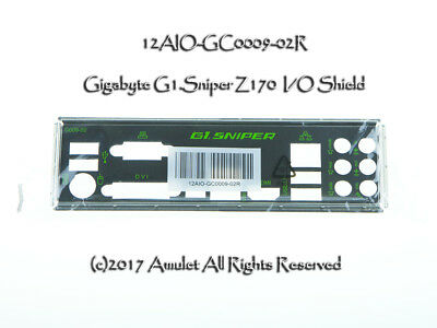 I//O Shield For GIGABYTE G1.Sniper B7 Motherboard Backplate IO
