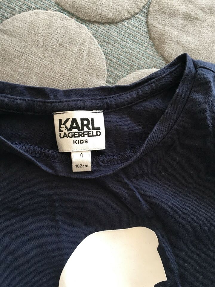Bluse, Bomuld, Karl lagerfeld
