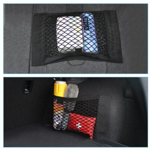 Auto Netztasche Autositzrück mit Klett Kofferraumnetz Mesh Lagerung