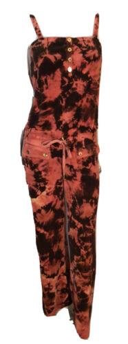 Juicy Couture Custom Tie Dye Terrycloth Jumpsuit R