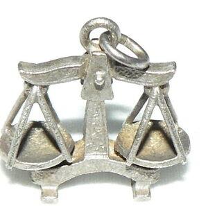 Antikschmuck Anhänger/waage Aus 935er Silber Antiquitäten & Kunst da4307