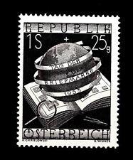 AUSTRIA - 1953 - Giornata del francobollo
