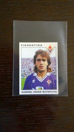 Gabriel Batistuta Rookie Autocollant-Panini Calciatori 1991-92 - Comme neuf condition