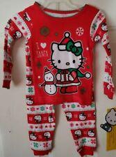 Holiday Time Infant /& Toddler Girls Santas Sweetest Helper Sleep Set Pajamas