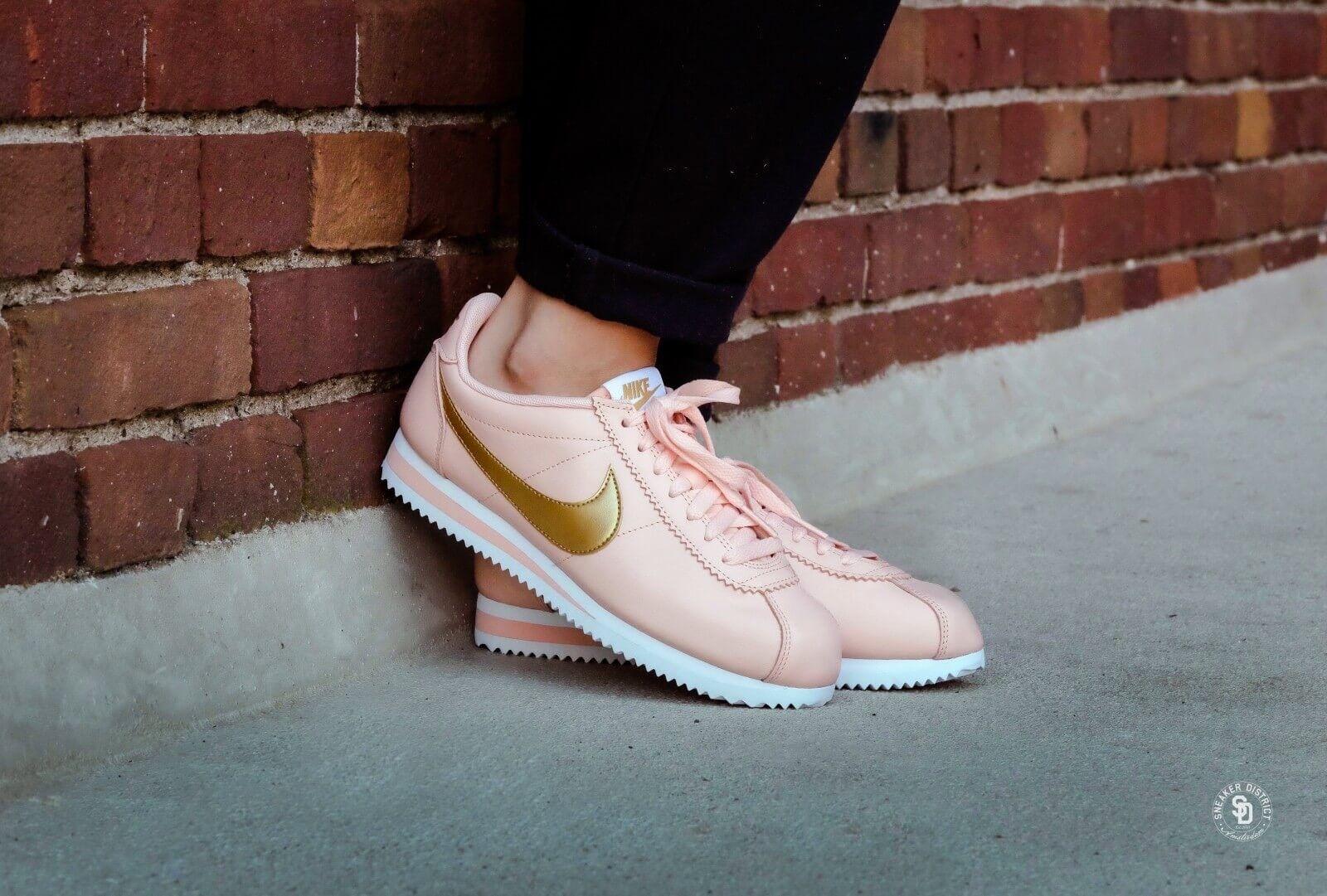 Reino Unido 6.5 Para Mujer Nike Classic Cortez Cortez Cortez Cuero Zapatillas Eur 40.5 US 9 807471-800 050d12